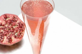 Cocktail champagne-grenade
