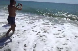 Malaga plage fermée pendant 5 heures